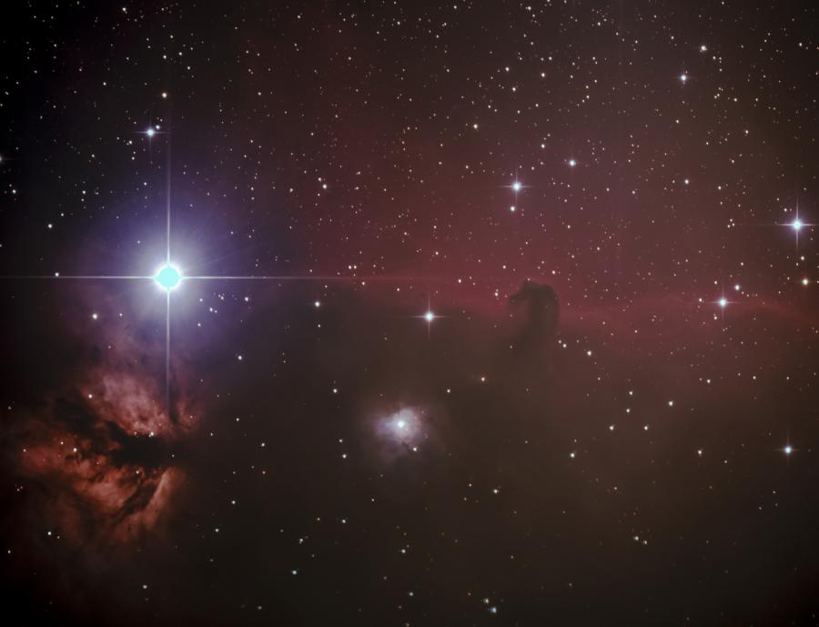 Teleskop astrofotografie mm f super quadruplet astrograph