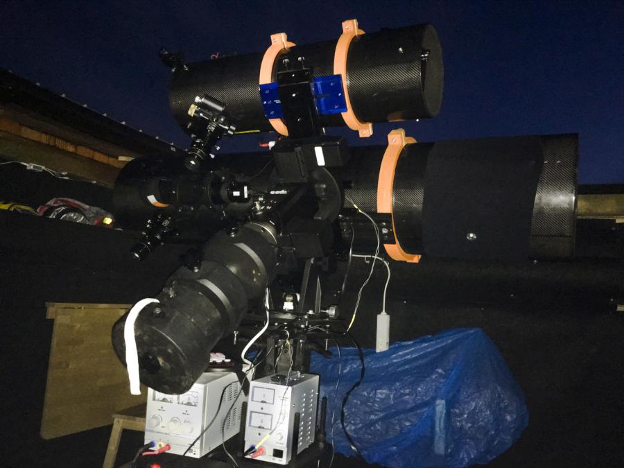 Spendenziel erreicht u neues sonnen teleskop angeschafft